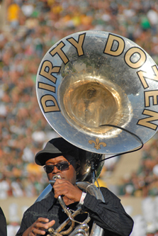 Dirty Dozen Brass Band Tuba Promotional Photo