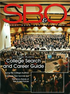 School Band and Orchestra College and Career Guide cover