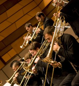 Brass Section Pictured