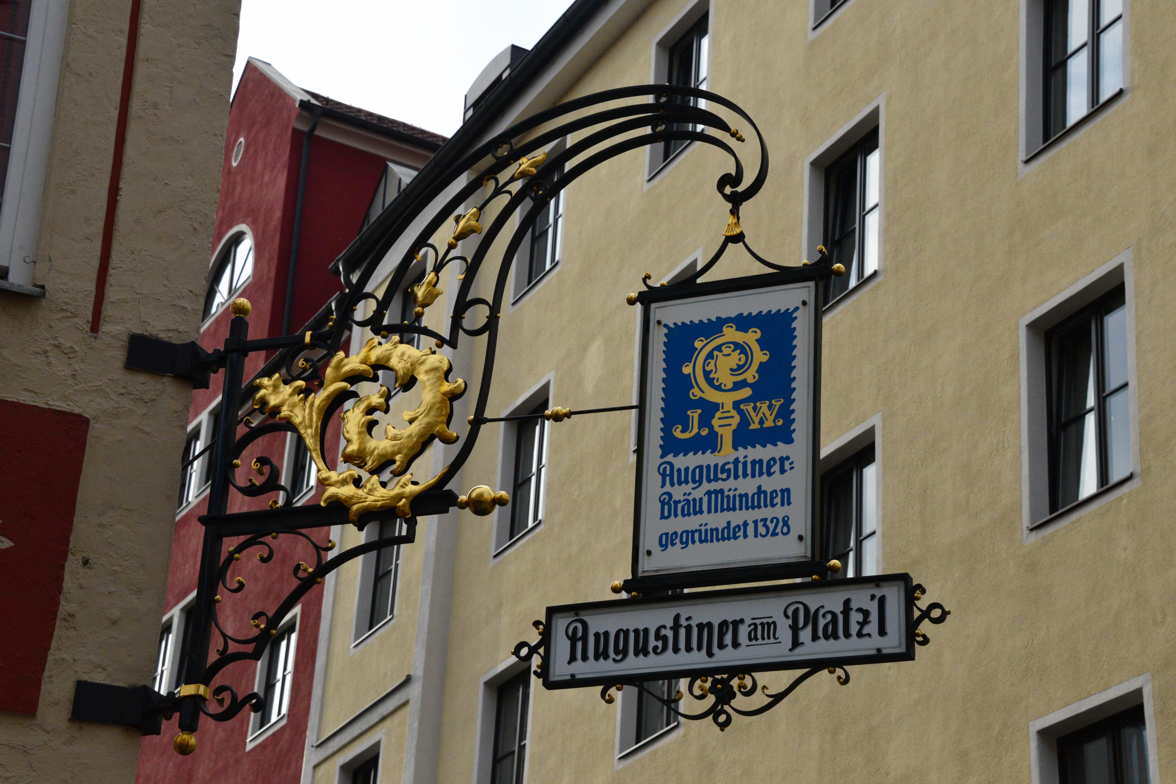 Munich street signs