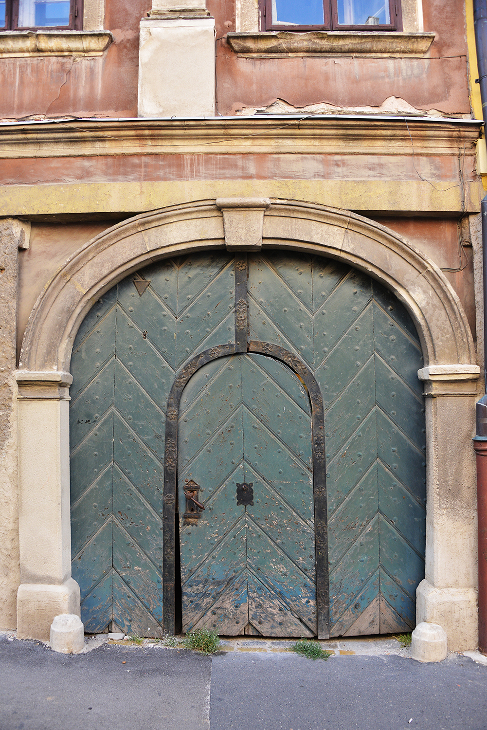 beautiful door in Hungary