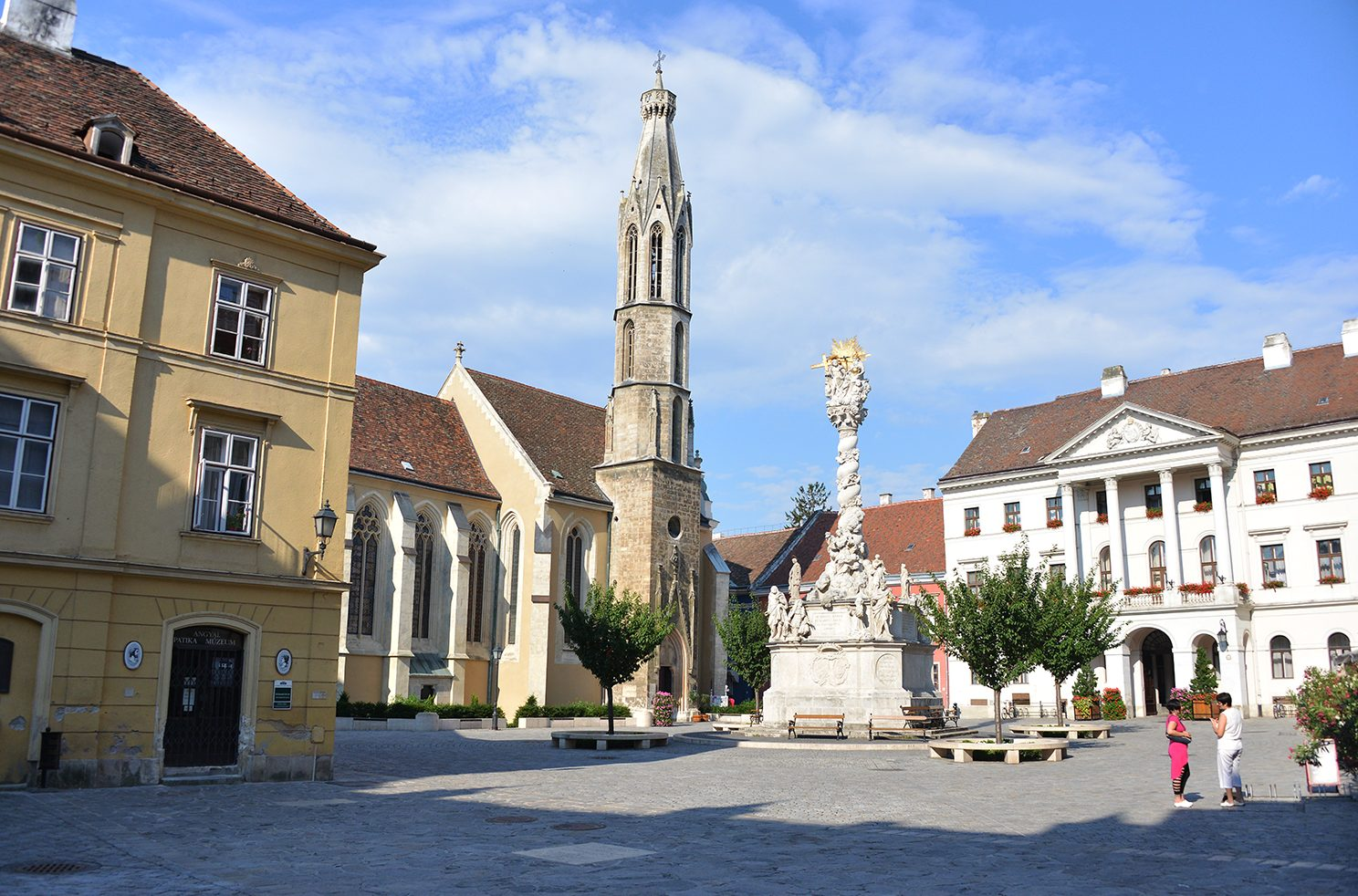 Goat Church, Sopron, Hungary.