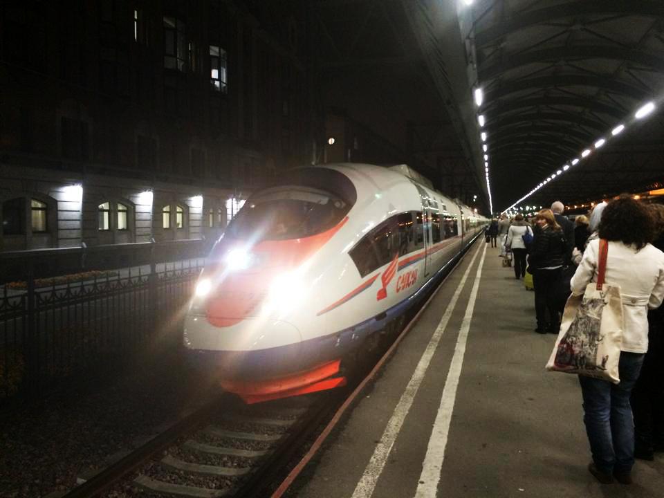 Eurail platform