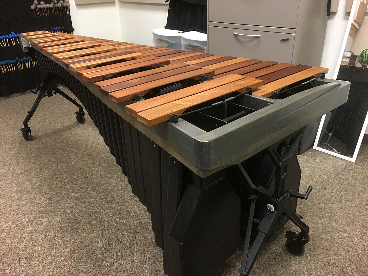Adams Alpha Marimba pictured
