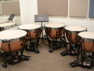 Pictured Adams Pro. Gen. II Timpani