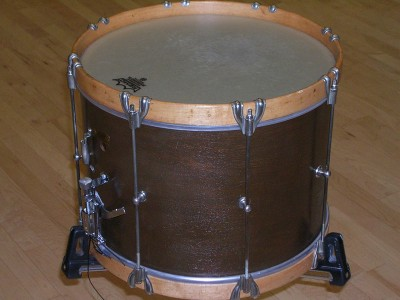 Pictured Leedy Field Drum