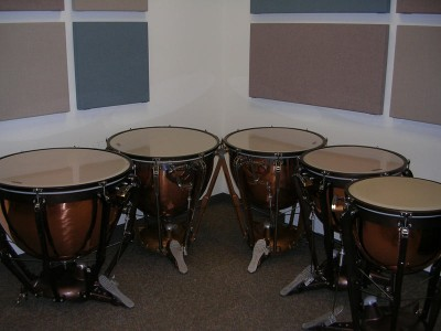 Pictured Ludwig Timpani Drums