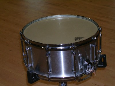 "Pictured Pearl Philharmonic Aluminum 6.5"" Snare Drum"