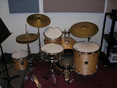 Pictured Yamaha Drum Kit