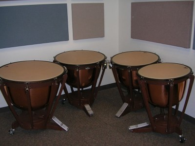Pictured Yamaha Timpani Drums