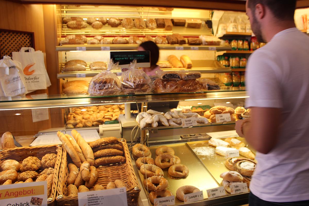 A pastry shop in Esterhazy, Austria pictured
