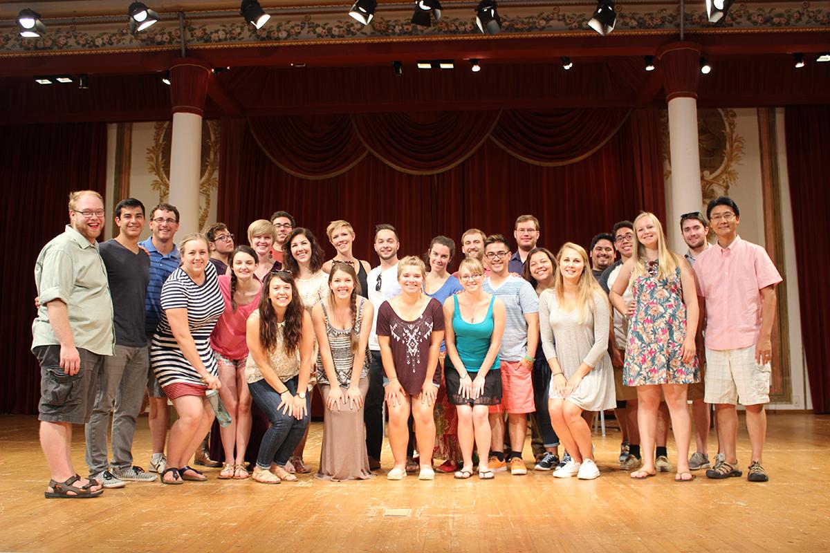 2015 Chamber Choir Tour photo