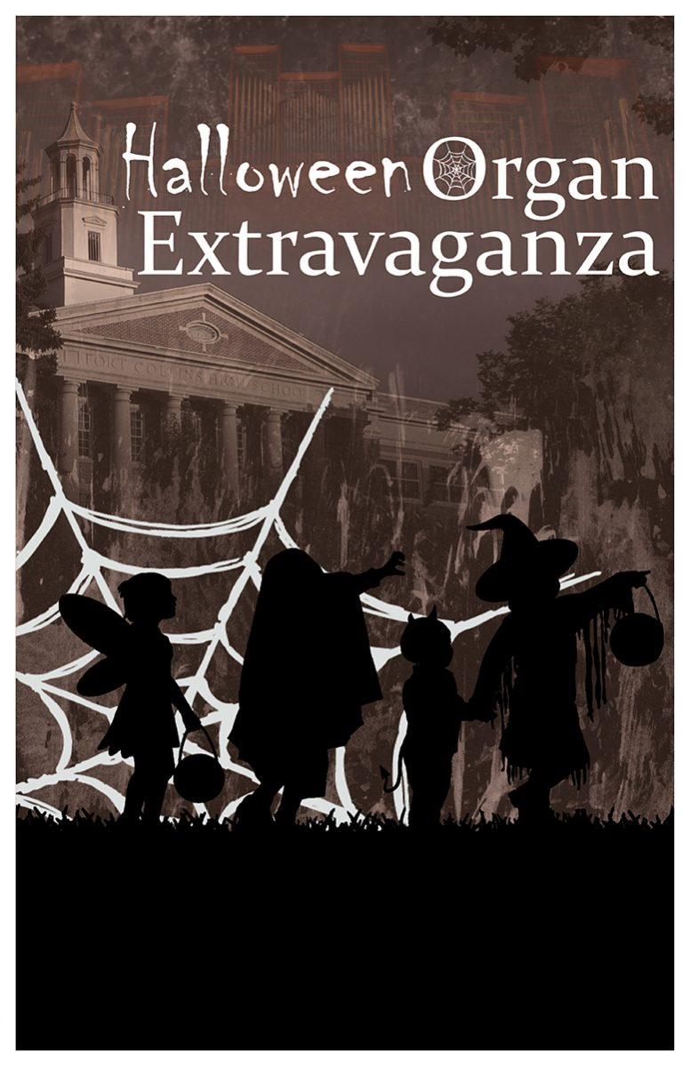 Halloween Organ Extravaganza promotional banner
