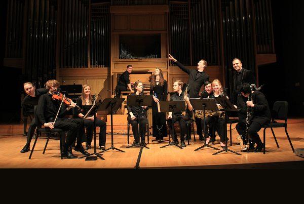 New Music Ensemble promotional photo