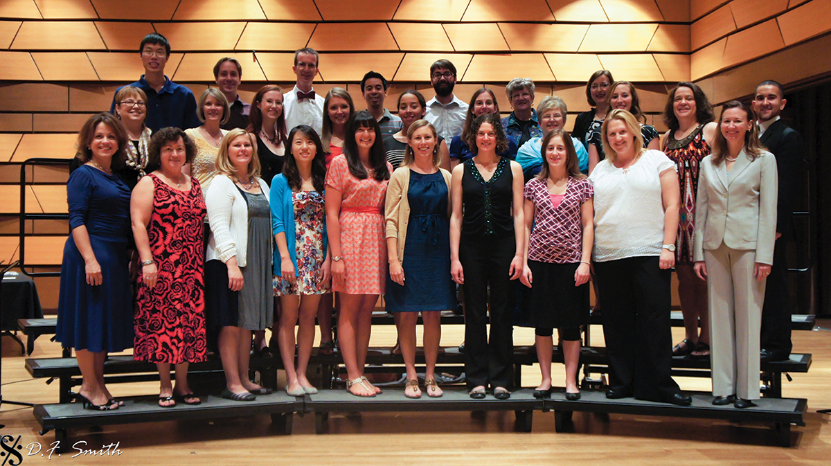 Kodaly concert group photo