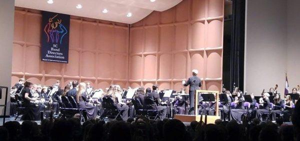 Rebecca Phillips pictured conducting