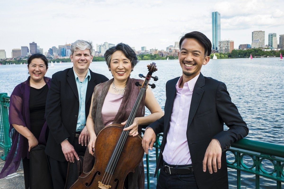 Borromeo String Quartet promotional photo