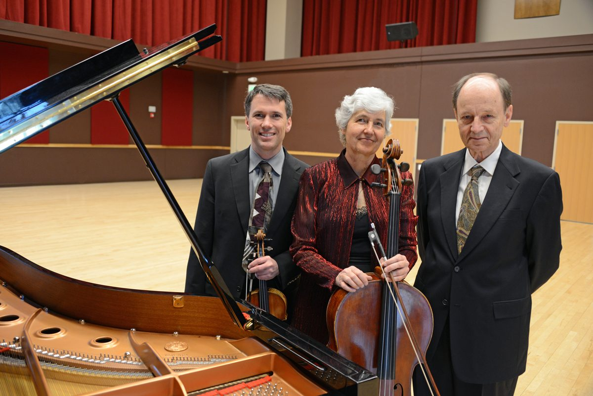 The Mendelssohn Trio promotional photo