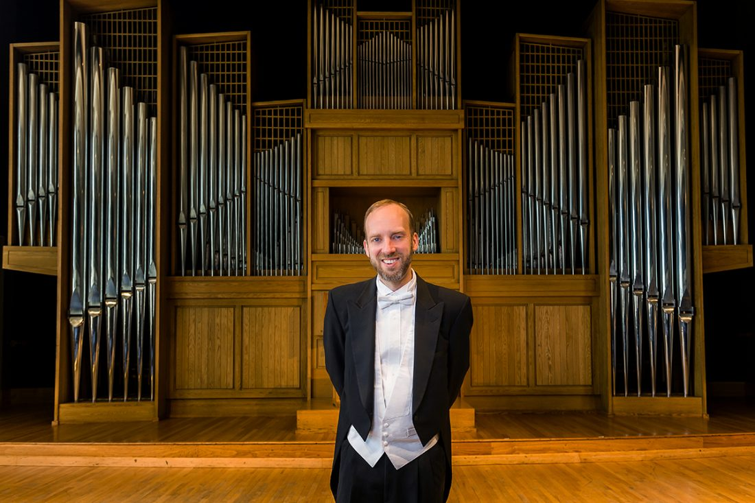Organ Professor Joel Bacon