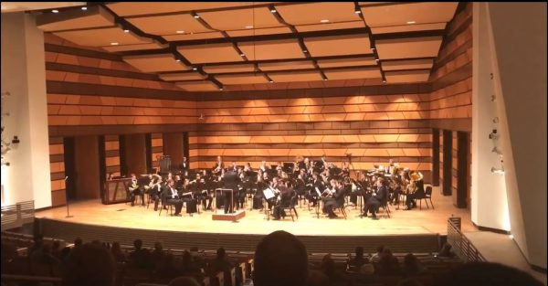 Symphonic Band in Griffin Concert Hall