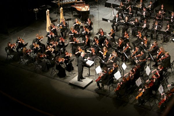 Denver Young Artist Orchestra pictured conducted by Wes Kenney