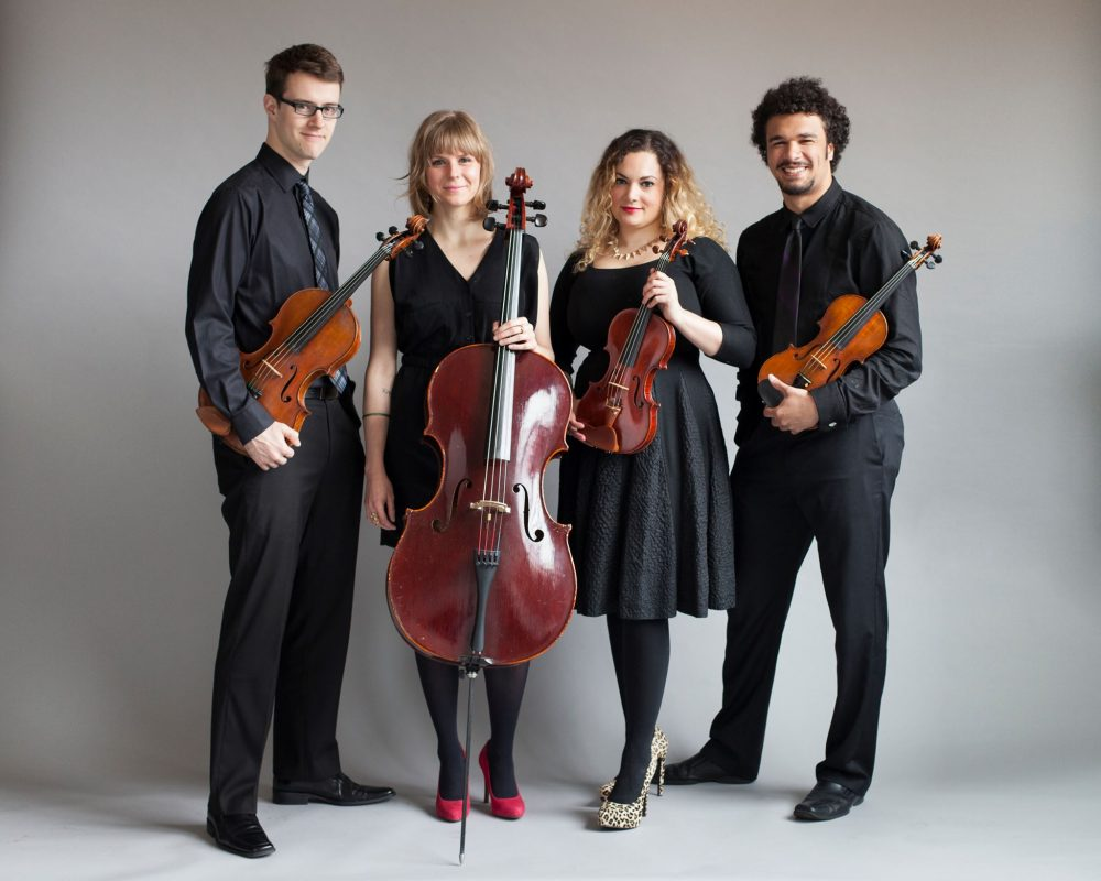 PUBLIQuartet promotional photo