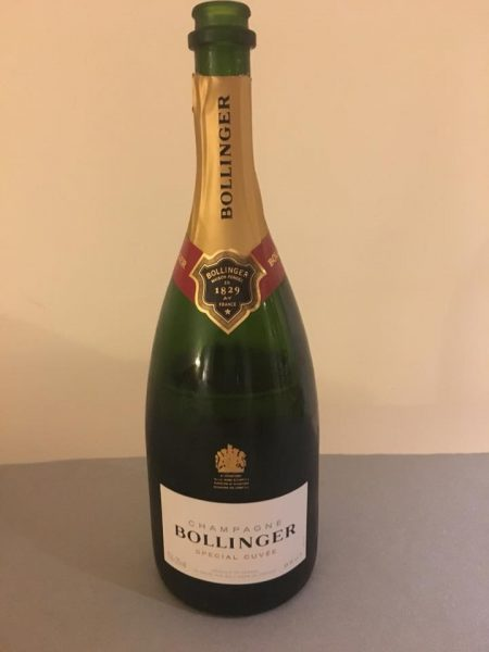 Bollinger Champagne bottle