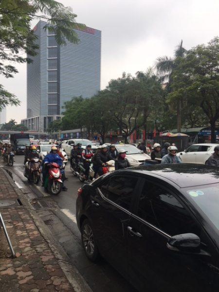busy Vietnamese street