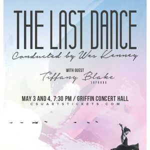 "A poster promoting the upcoming University Symphony Orchestra Concert ""A Last Dance"""