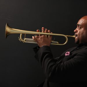 CSU Jazz Ensembles perform with renowned trumpet player, Terell Stafford