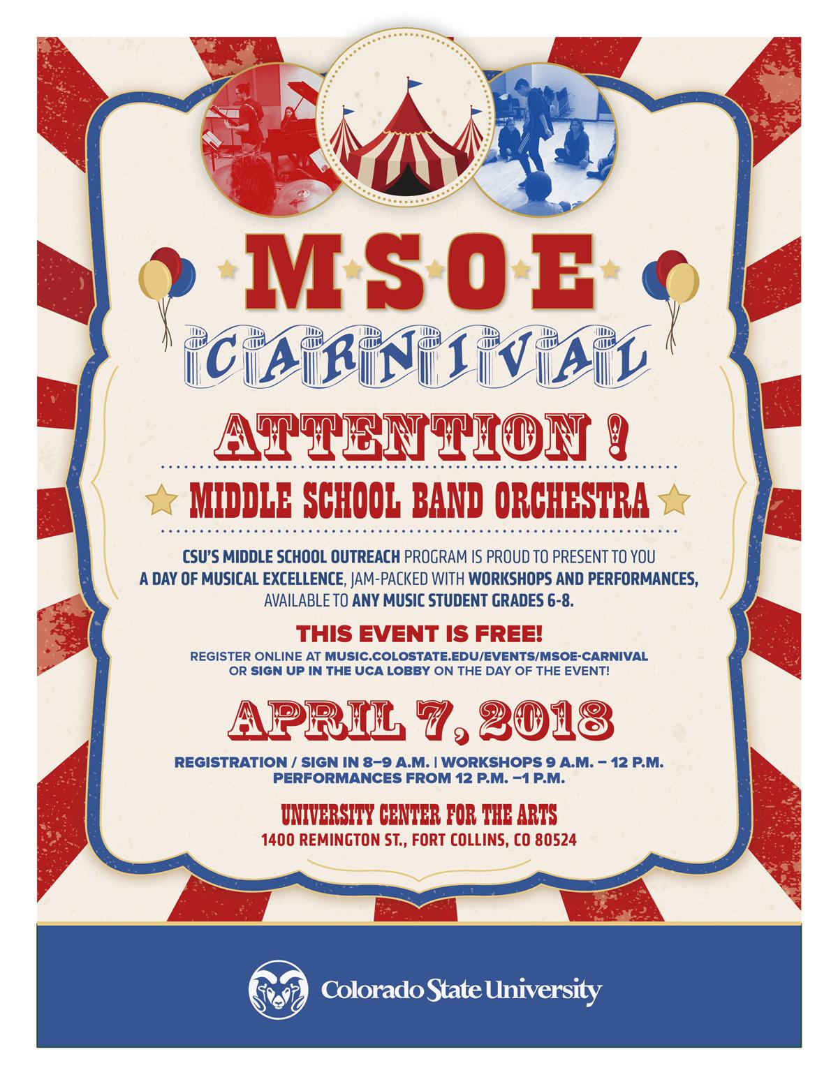 MSOE Musical Carnival 2018 - Music