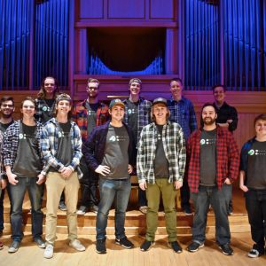 Mountain Horns A Cappella Group photo in Organ Recital Hall