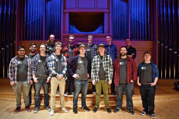 Mountain Horns A Cappella Group photo in Organ Recital Hall