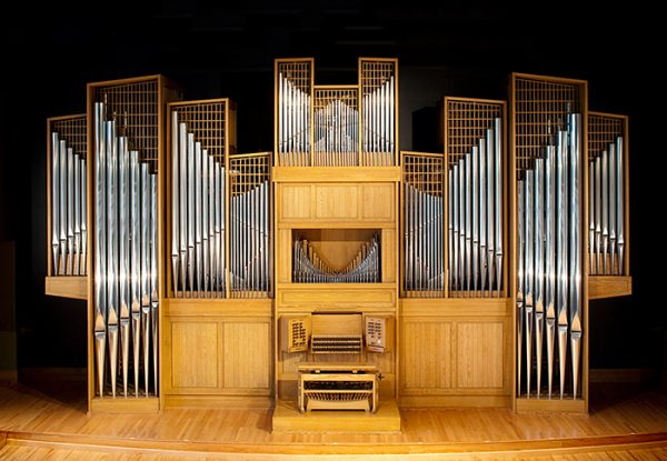 Casavant Organ pictured in Organ Recital Hall