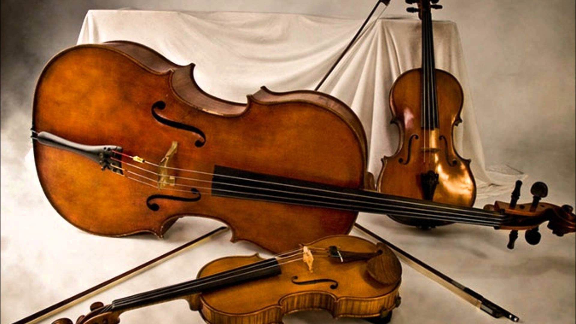 Three string instruments