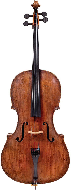 A picture of a cello