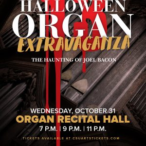 Halloween Organ Extravaganza promotional poster