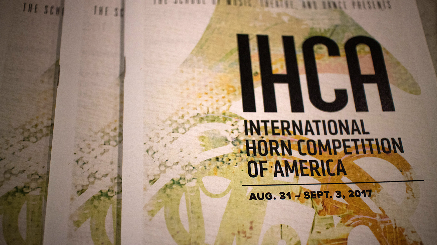 International Horn Competition of America banner