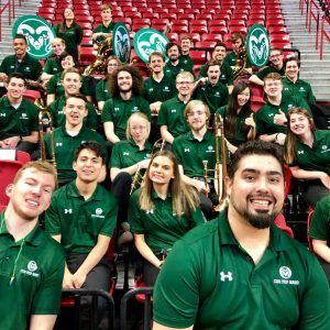 CSU Pep Band group photo