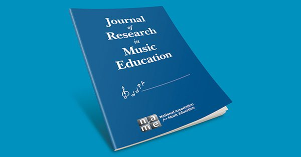 Journal of Research in Music Education pictured