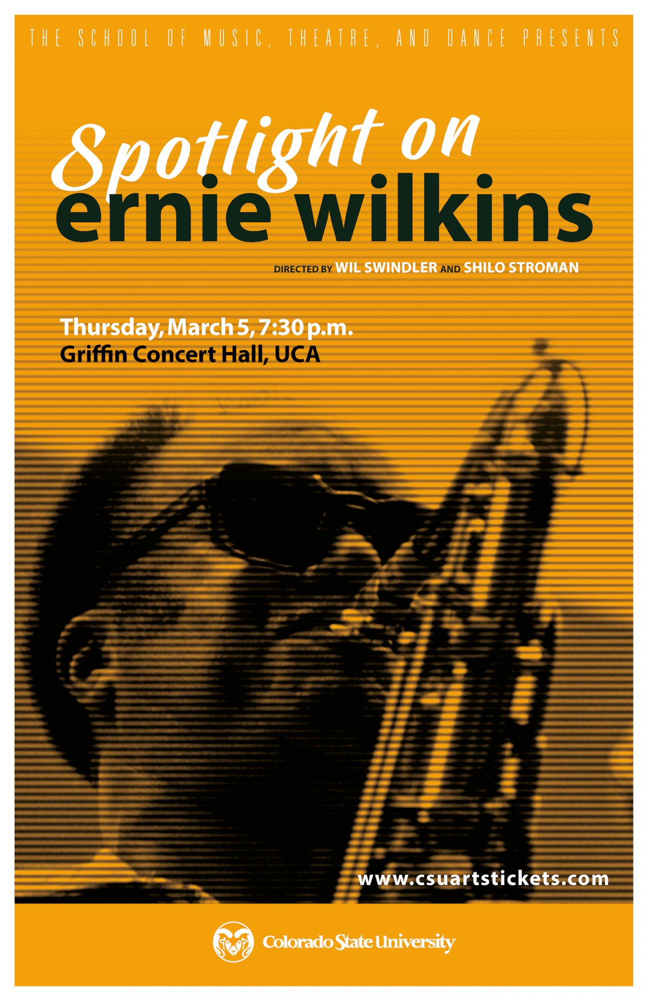 Spotlight on Ernie Wilkins promotional poster