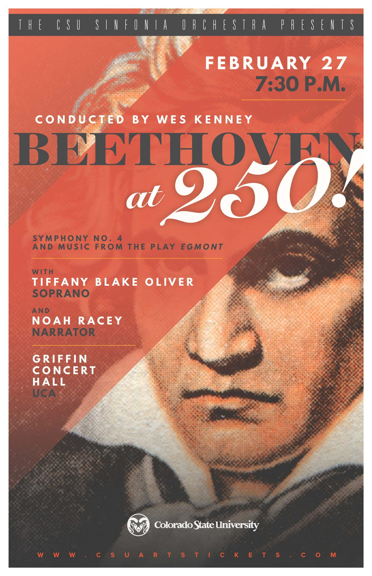 Beethoven 250 Promotional Poster