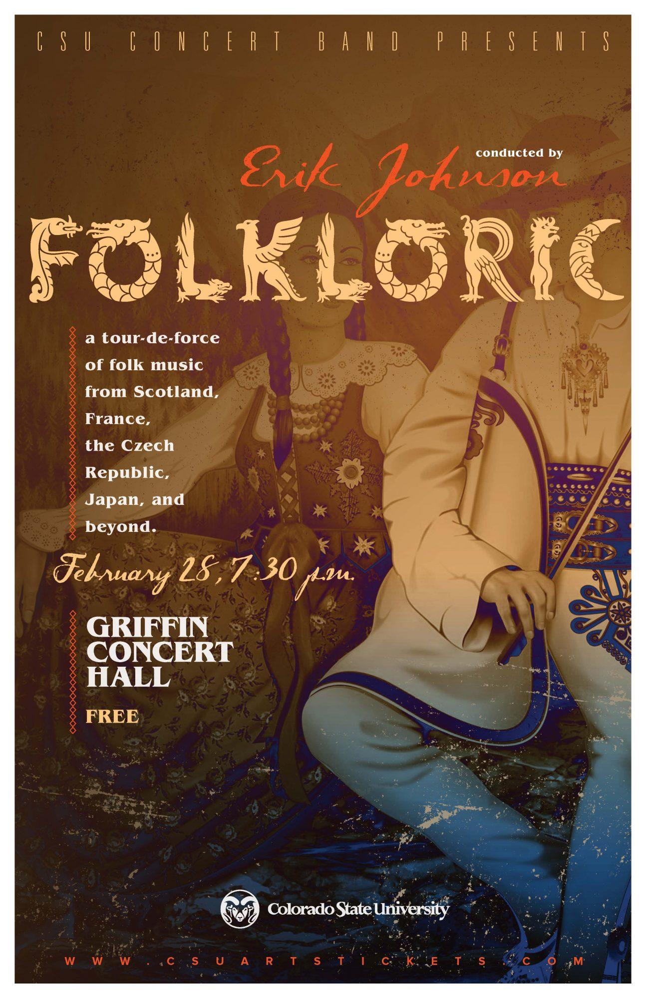 Folkloric Concert Promotional Poster