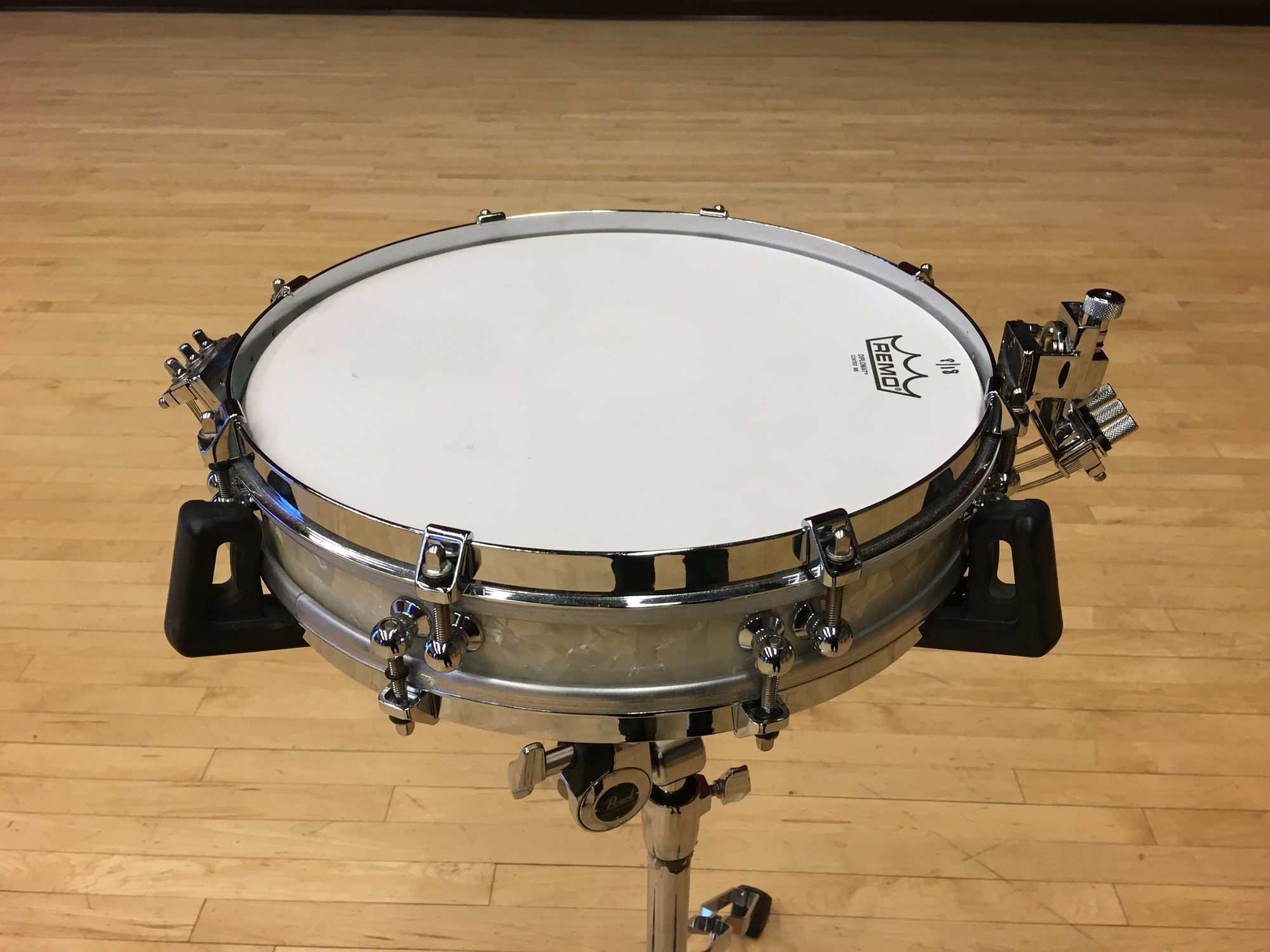 "Pictured Pearl 2.5"" 'Pancake' Snare Drum"