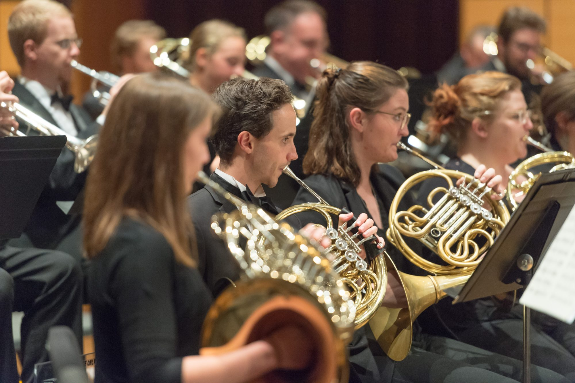 Promotional Photo of Wind Symphony playing