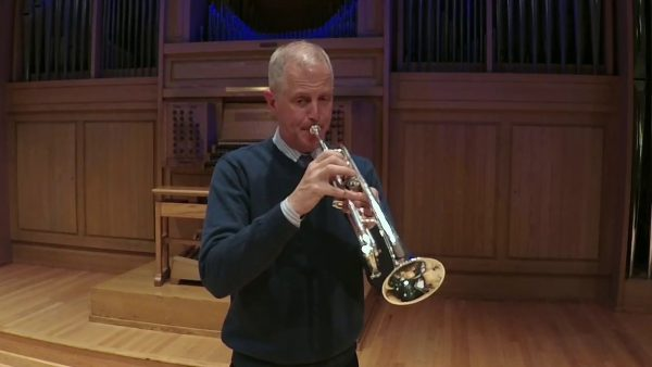 Stanley Curtis Playing Trumpet