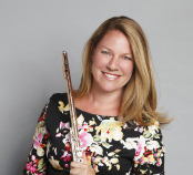 Michelle Stanley with flute Promotional Photo