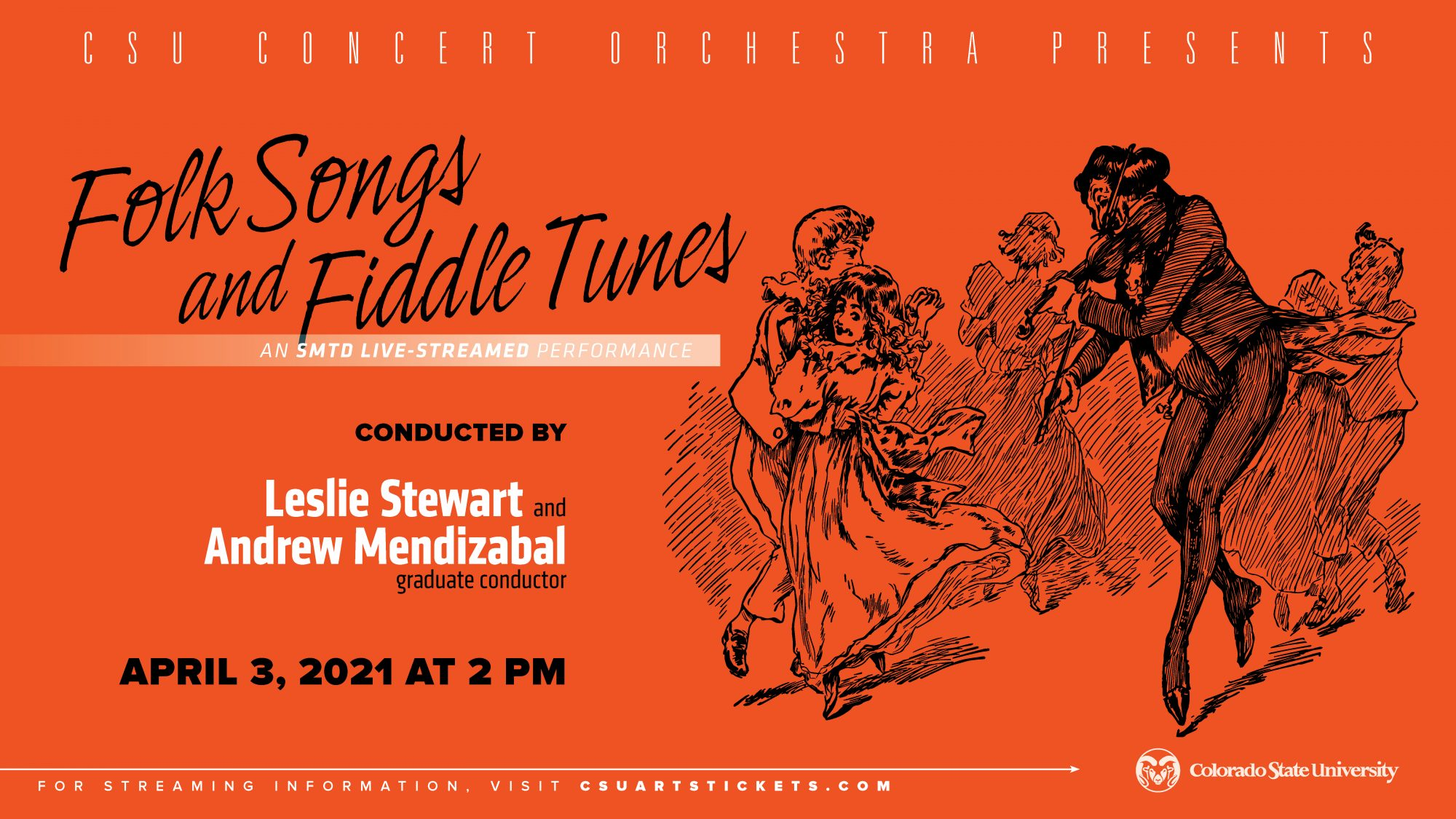 LIVESTREAM: Concert Orchestra, <em>Folk Songs and Fiddle Tunes</em>