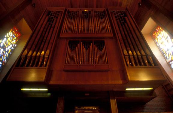 Pictured St. Luke's Episcopal Church Phelps Organ