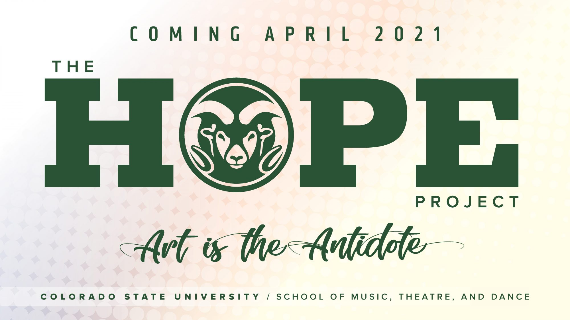 STREAM: School of Music, Theatre, and Dance, HOPE Project